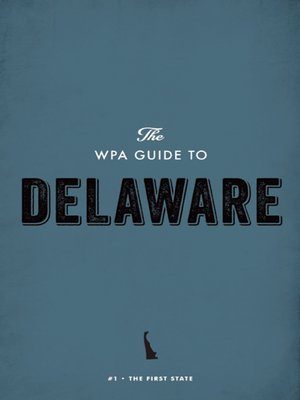 cover image of The WPA Guide to Delaware